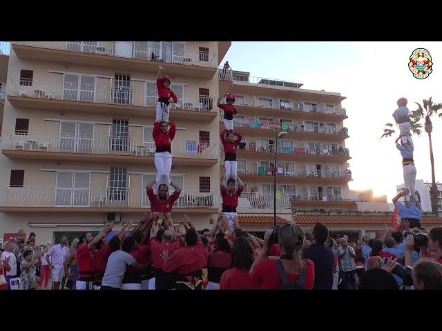 P4 P4xs Castellers Alt Maresme @ Malgrat de Mar (18/08/2019)