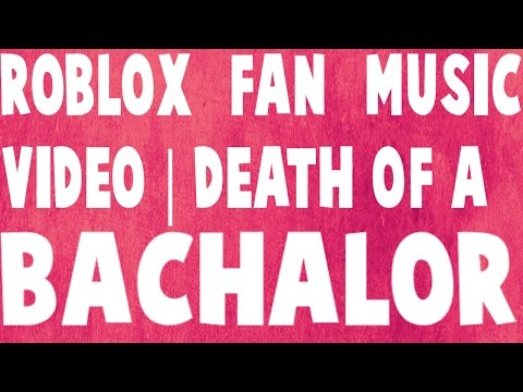 Death of a batchelor / Panic! At the disco | Roblox music video / w/ Fans