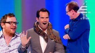 Jimmy Carr FREAKS EVERYONE OUT With His Snake?! | 8 Out of 10 Cats | Jimmy Best | Series 16