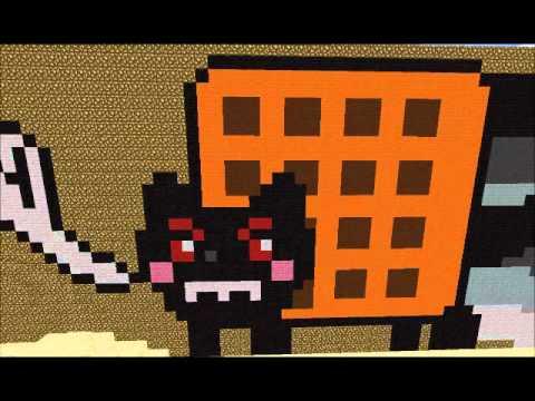 The Minecraft Creators Minisode 1 - Evil Nyan Cat - YouTube Evil Nyan Cat Minecraft Grid