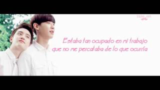 [SUB ESP] Chanyeol (찬열) y D.O (디오) - Love Yourself (Cover)