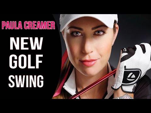 Paula Creamer Golf Swing Changes | Rotary Swing Analysis