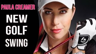 Paula Creamer Golf Swing Changes | Rotary Swing Analysis