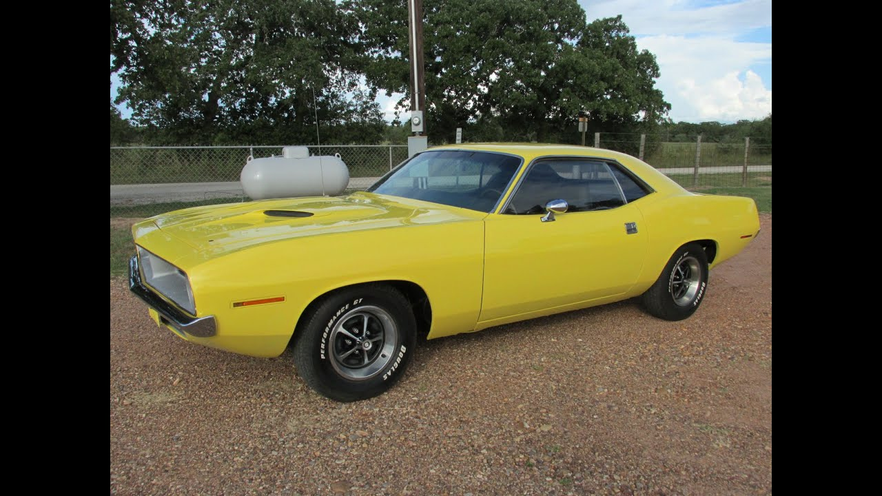 1970 barracuda cuda for sale challenger for sale texas like mustang camaro youtube. Black Bedroom Furniture Sets. Home Design Ideas