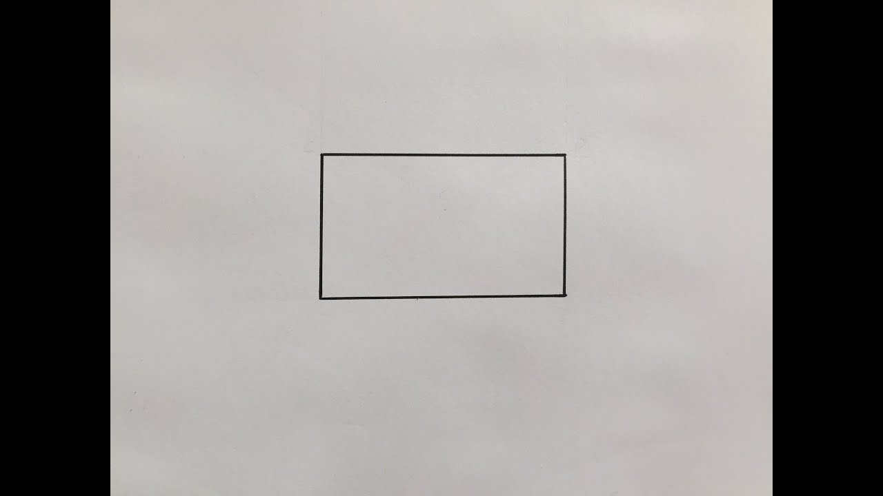 Comment Dessiner Un Rectangle How To Draw A Rectangle Youtube