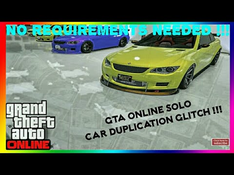 *EASY* GTA Online The ONLY Solo Car Duplication Glitch That Rockstar Will NEVER Patch! [PS4, X1, PC]