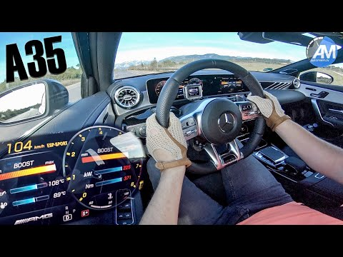 See how the Mercedes-AMG A35 performs in acceleration test
