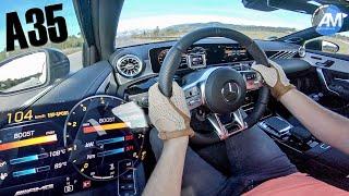Mercedes-AMG A35 - 0-100 km/h RACE START!