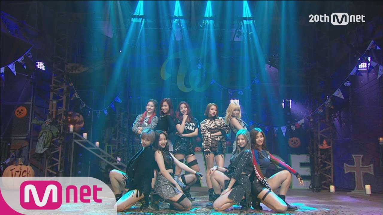 TWICE(트와이스) - 'Like OOH-AHH(OOH-AHH 하게)' Debut stage M COUNTDOWN 151022 EP.448