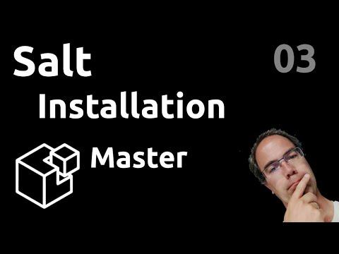 Installation d'un master - #Salt 03