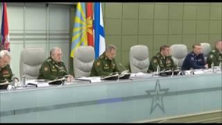 Сергей Шойгу на совещании в МО озвучил отношение Европы к России вокруг ситуации в Сирии