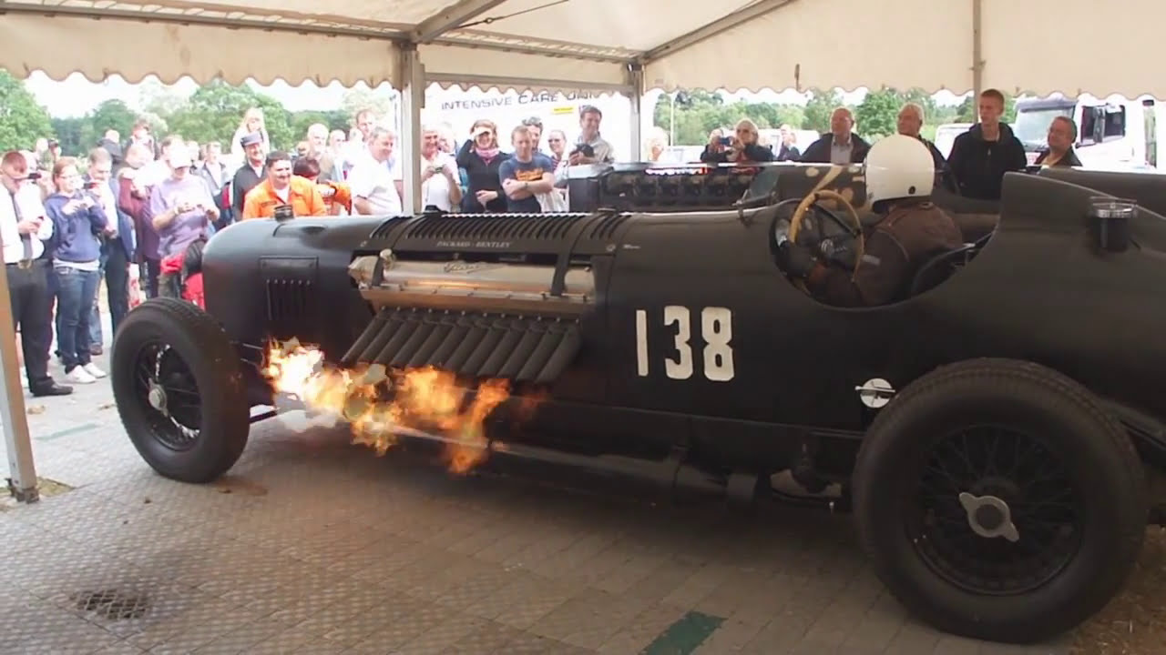 Fire Breathing Packard Bentley - Pageant of Power
