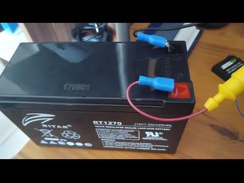 Fishfinder Garmin Striker 4. Battery Connections Soldering