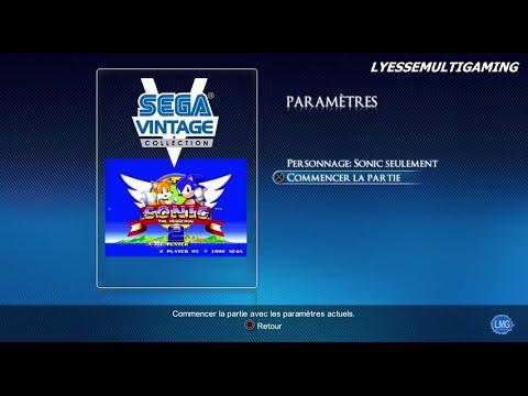 Sonic The Hedgehog 2 Sur Ps3 Sega Vintage Collection