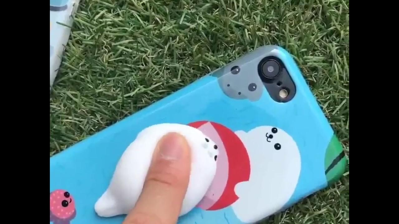 Squishy 3d cat phone case - 3d Cute Soft Silicone Squishy Cat Phone Case
