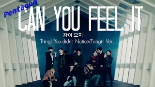 Pentagon Can You Feel It ~ Things You Didn