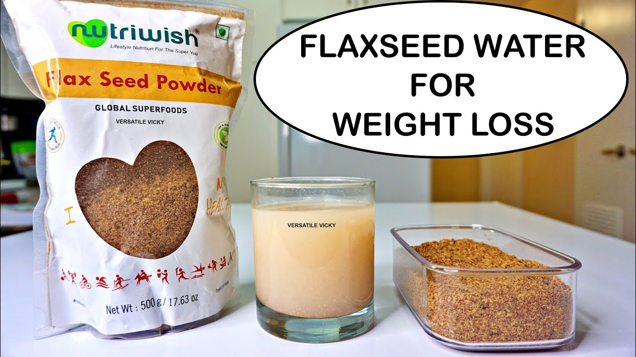 does flax seeds help u lose weight