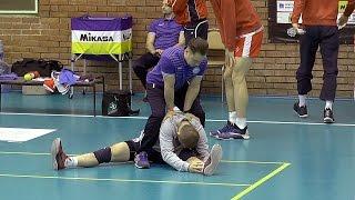 Волейбол. Разминка перед игрой