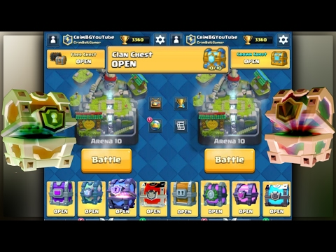 OPENING EVERY CHEST IN CLASH ROYALE PART 2! CLASH ROYALE CHE