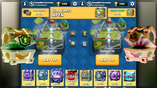 OPENING EVERY CHEST IN CLASH ROYALE PART 2! CLASH ROYALE CHEST OPENING/LEGENDARIES IN CHESTS