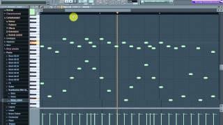fl studio 10 tutorial how to make a good techno melodie