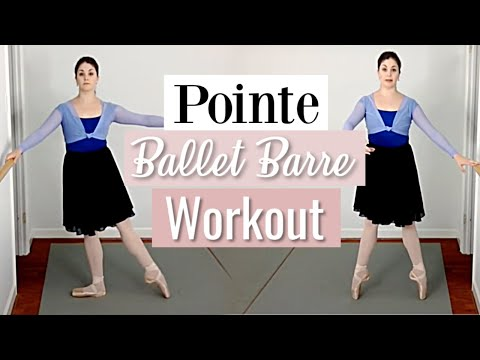 Pointe Barre Ballet Workout | Kathryn Morgan