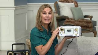 Studebaker Portable CD Player with Radio and Cassette Player on QVC
