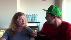 Megadeth Interview Dave Mustaine 2014