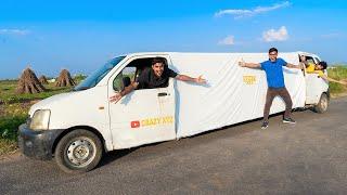 Making Longest Car In India ! हमने बना दी सबसे लंबी गाड़ी | Will It Run or Not?