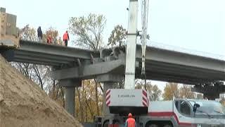 Капітальний ремонт шляхопроводу на автодорозі Р-46 Харків-Охтирка біля с. Губарівка триває