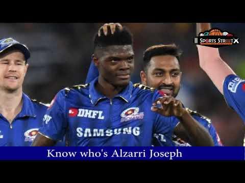 ipl-2019:-who-is-alzarri-joseph---ipl's-new-star
