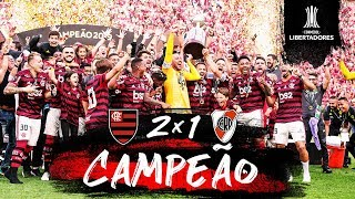 Mengão é BICAMPEÃO da Conmebol Libertadores - Bastidores