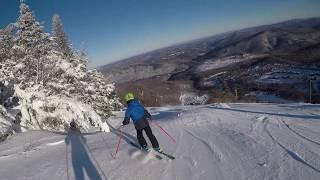 Ski Vermont - Skiing Double diamonds at Killington Mountian in Vermont