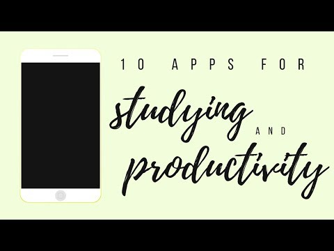 10 apps for studying and productivity | studytee