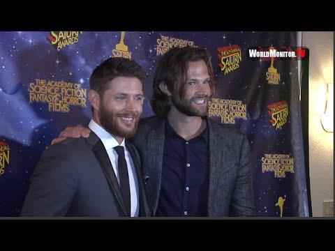 Supernatural Jared Padalecki and Jensen Ackles 42nd Annual Saturn Awards Press Room