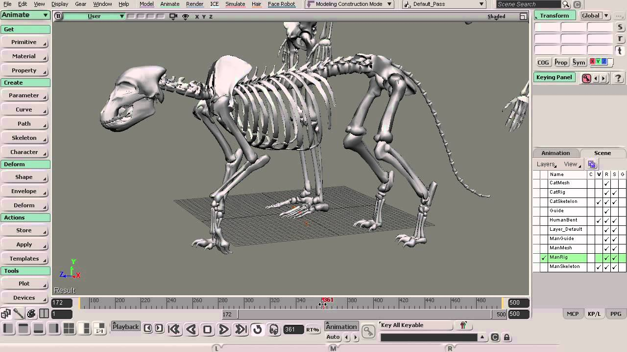 Cmivfx Releases New Softimage Anatomy Of Motion Animation Youtube