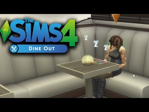 RABBLE ROUSING in the Sims 4: Dine Out!