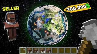Minecraft NOOB vs PRO : NOOB BOUGHT THIS PLANET FOR 100.000$! Challenge IN MINECRAFT!