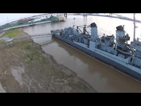 USS Kidd Baton Rouge LA.
