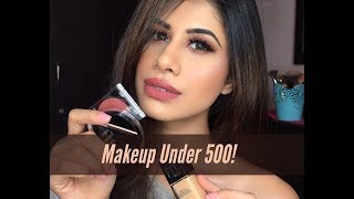 Makeup UNDER 500 Rupees! | HAUL | New products | Malvika Sitlani