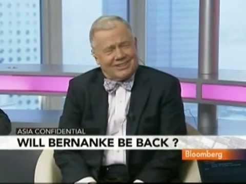 Jim Rogers Discusses Bernanke Reappointment-Fed Policy