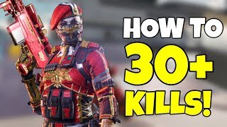 HOW TO GET 30+ KILLS IN CALL OF DUTY MOBILE BATTLE ROYALE