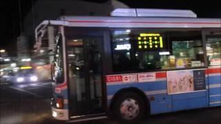 京浜急行バス 鎌倉営業所 PDG LR234J2 太刀流ゆき 鎌倉駅発車 ('17/3/23)