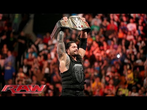 Roman Reigns Vs. Sheamus – WWE World Heavyweight Championtitel Match: Raw – 14. Dezember 2015