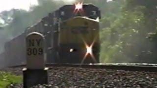 CSX in Upstate NY 2001 - Part 1