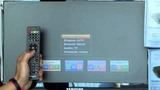 Como buscar canales receptor ENGEL RS4800S