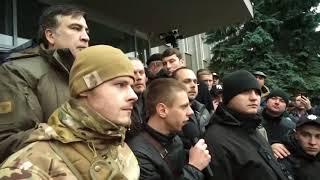 Мэр Смелы от БПП нанял титушек, чтобы защититься от народа и Саакашвили