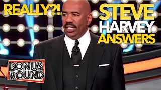 CELEBRITIES GIVE STEVE HARVEY ANSWERS! Steve Can