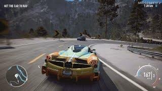 Need for Speed Payback - Natalia Nova's Pagani Huayra BC Abandoned Car - Location and Gameplay