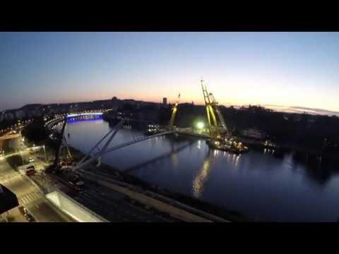 Une nouvelle passerelle sur la Meuse à Liège